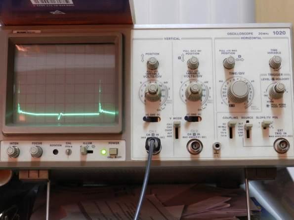 Figura 100 – Oscilograma 4KHz, com capacitor.