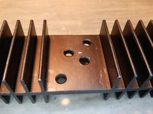 Figura 42 – Dissipador para um transistor TO-3.