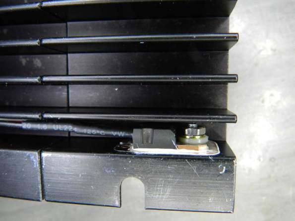 Figura 58 – Montagem do transistor TO-220 no dissipador.