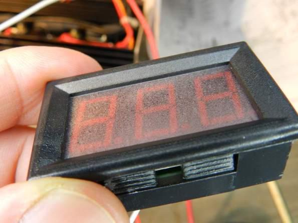 Figura 6 – Voltímetro montado.