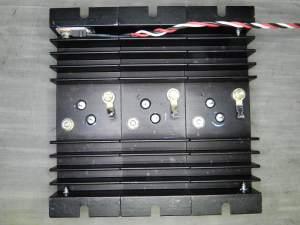 Figura 60 – Módulo de potência antes da montagem dos resistores.