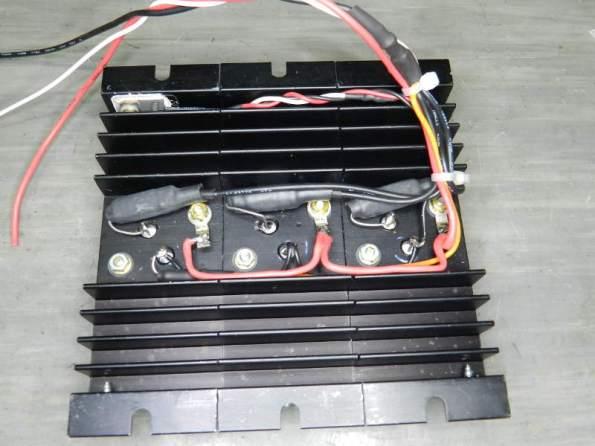 Figura 67 – Soldagem das ligações do módulo de potência concluída.