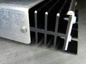 Figura 70 – Remoção dos cantos vivos do módulo de potência.