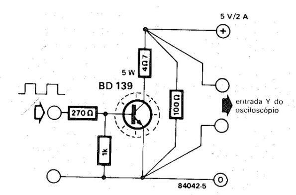 Figura 92 – Carga dinâmica para fontes de 5V, 2A. Fonte: Elektor [27].