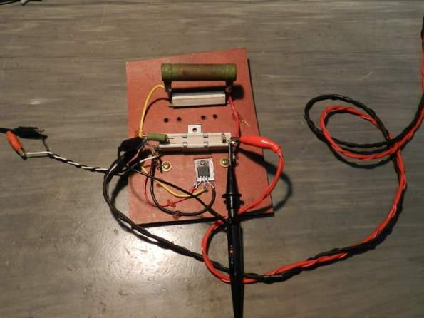 Figura 94 – Circuito de carga dinâmica para teste de fontes.