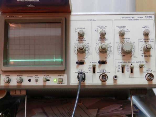Figura 95 – Oscilograma 40Hz, sem capacitor.