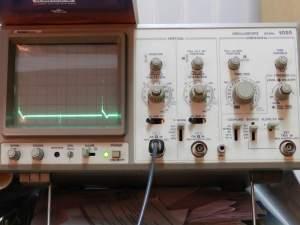 Figura 97 – Oscilograma 400Hz, sem capacitor.