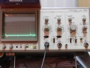 Figura 98 – Oscilograma 400Hz, com capacitor.