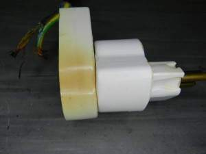 Figura 2 – Plugue e adaptador transformados em peça única...