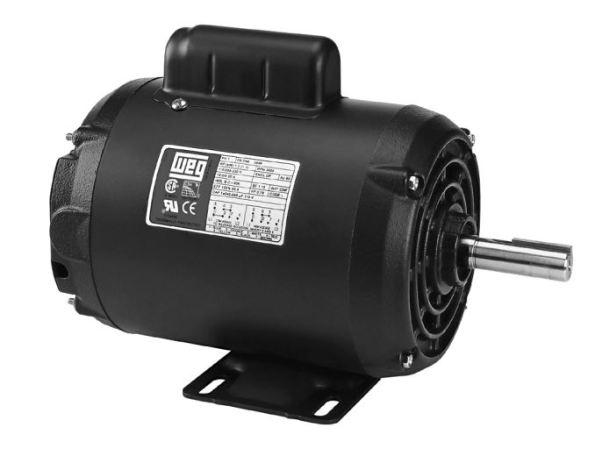 Figura 41 - Motor de indução WEG com capacitor de partida. Fonte: HD Equipamentos [73].