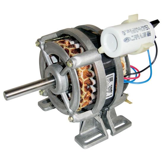 Figura 43 – Motor WEG com capacitor permanente, para máquina de lavar. Fonte: HP Eletricidade Industrial [74].