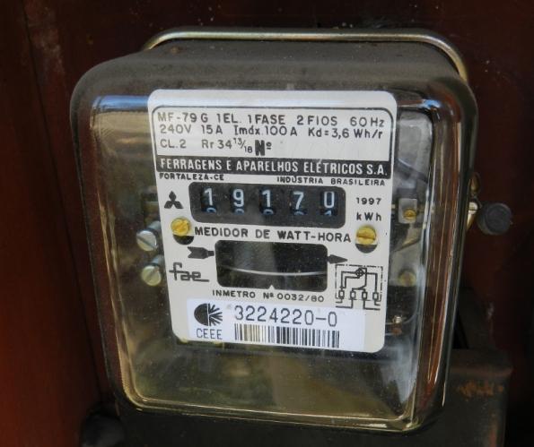 Figura 56 – Medidor de energia elétrica tradicional.