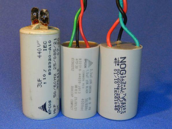 Figura 89 – Capacitor de 440VCA de uso industrial, que pode ser utilizado em ventiladores de teto.