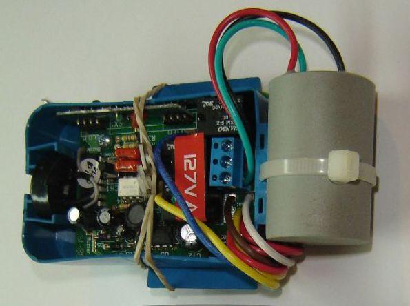 Figura 96 – Módulo de controle remoto de 127V.
