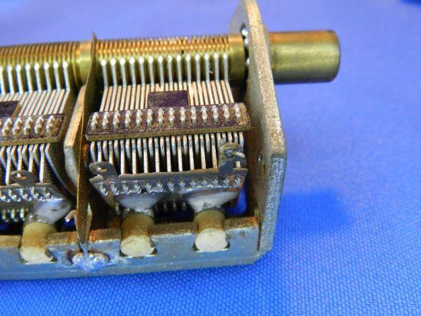 Figura 25 – Capacitor variável sem peças plásticas.