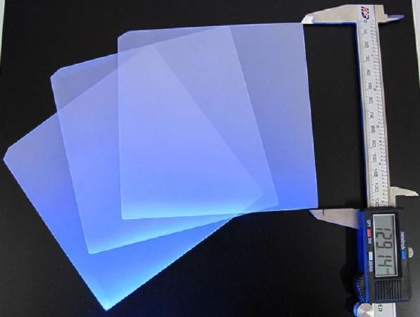 Figura 34 – Placas de cerâmica semitransparente para substratos. Fonte: Cheering Sun[103].