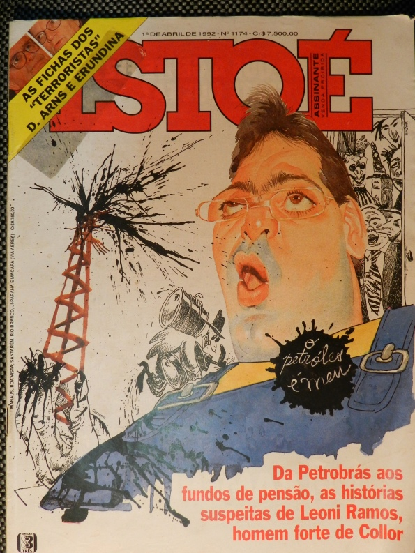 Figura 4 – Capa da revista Isto É, de abril de 1992.