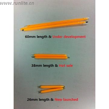 Figura 106 – Filamentos LED da Runlite. Fonte: Runlite [280].