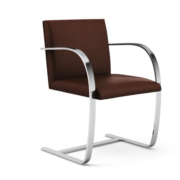 Figura 135 – Cadeira Brno, de Mies van der Rohe, feita para a casa Tugendhat, na República Tcheca, em 1930. Fonte: Knoll [414].