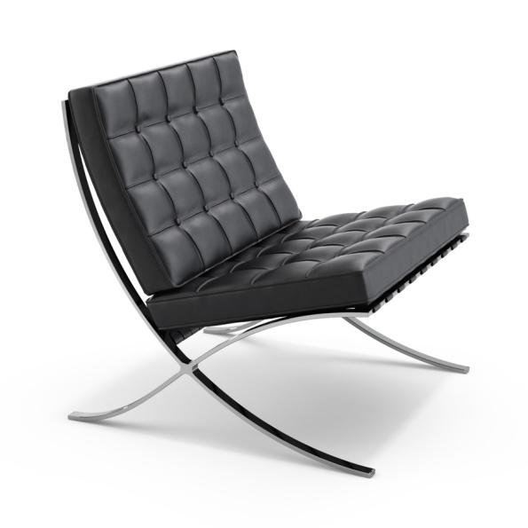 Figura 139 – Cadeira Barcelona, de Mies van der Rohe e Lilly Reich, de 1929. Fonte: Knoll [421].