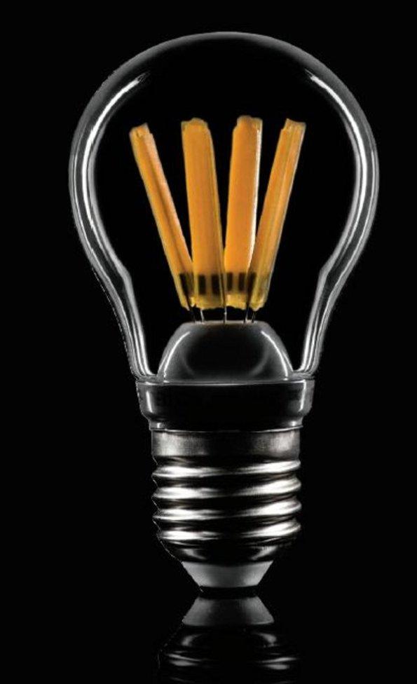 Figura 74 – Lâmpada LedLine de 4W, de filamentos LED grossos. Fonte: SMD-LED [203].