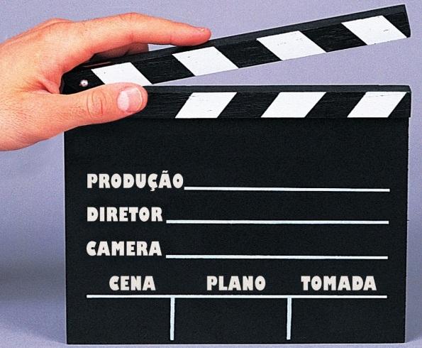 Figura 9 – Claquete de gravação.
