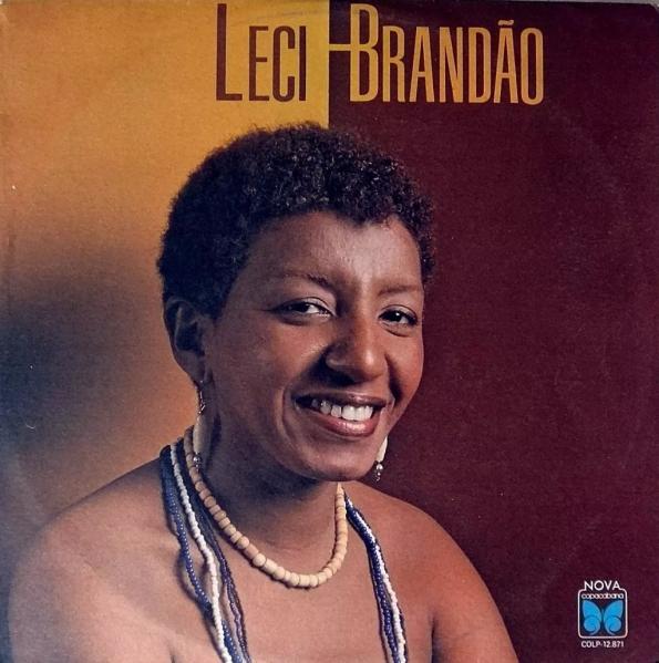 Figura 2 – Capa do primeiro disco de Leci Brandão pela Copacabana, em 1985.