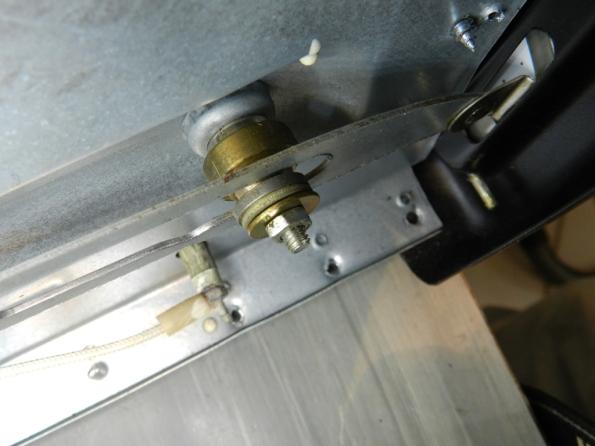 Figura 20 – Detalhe da montagem do mecanismo.