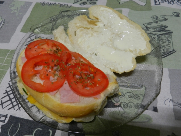 Figura 51 – Segunda camada de recheio do sanduíche.