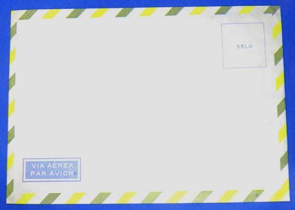 """Figura 3 – Antigo envelope """"Par Avion""""."""