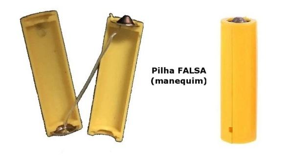 Fig. 9 – Pilha falsa (manequim) à venda na internet. Fonte: AliExpress [4].